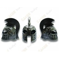 "Géocoin ""Casque Romain"" 3D - Spartan Battle Warrior"