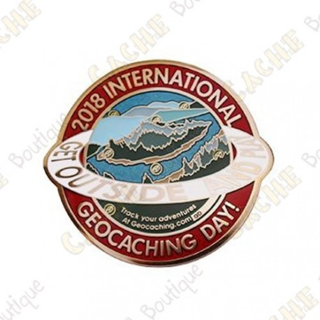 "Geocoin ""International Geocaching Day"" 2019"