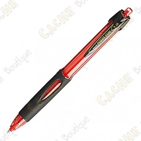 All-Weather Power Tank Pen 1mm - Rojo