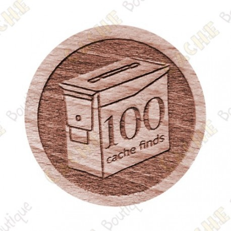 Geo Score Woody - 100 Finds