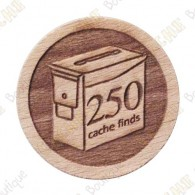 Geo Score Woody - 250 Finds
