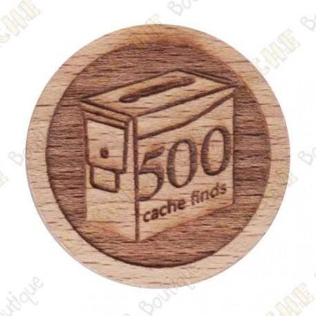 Geo Score Woody - 500 Finds