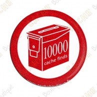 Geo Score Badge - 10 000 Finds