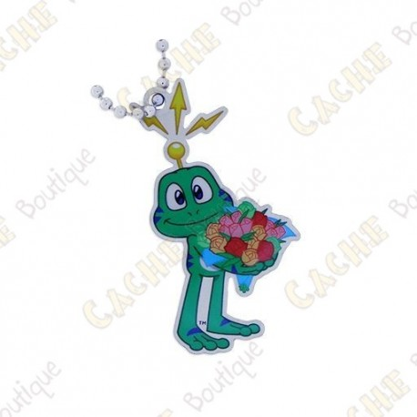 Traveler Signal the frog with bouquet