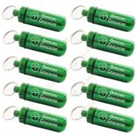 "Micro capsule ""Official Geocache"" 5 cm X 10 - Verde"