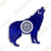 "Geocoin ""Wolf"" - Azul"