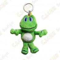 Porte-clés peluche Signal the Frog
