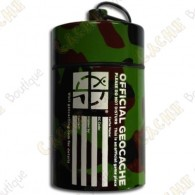 "Micro cache ""Official Geocache"" 10 cm - Camuflage"
