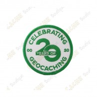 "Patch ""20 Years of Geocaching"""
