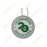 "Traveler ""20 Years of Geocaching"""