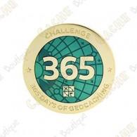 """Geocoin """"Challenge"""" - 365 days"""