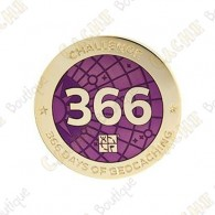 """Geocoin """"Challenge"""" - 366 jours"""