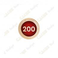 """Pin's """"Milestone"""" - 200 Finds"""