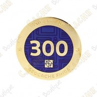 "Geocoin ""Milestone"" - 300 Finds"