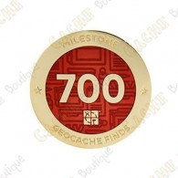 "Geocoin ""Milestone"" - 700 Finds"