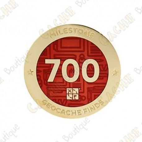 "Geocoin ""Milestone"" - 700 Finds"