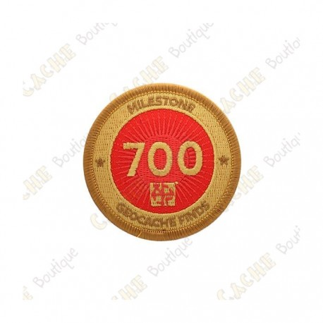 """Parche  """"Milestone"""" - 700 Finds"""