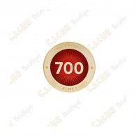 "Pin's ""Milestone"" - 700 Finds"