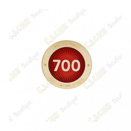 """Pin's """"Milestone"""" - 700 Finds"""