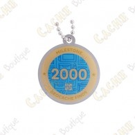 "Traveler ""Milestone"" - 2000 Finds"