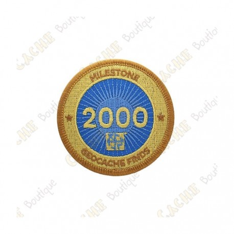 "Parche  ""Milestone"" - 2000 Finds"
