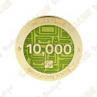 "Geocoin ""Milestone"" - 10 000 Finds"