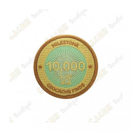 """Parche  """"Milestone"""" - 10 000 Finds"""