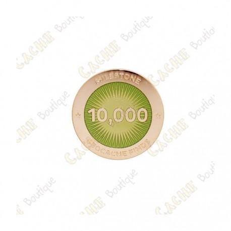 """Pin's """"Milestone"""" - 10 000 Finds"""