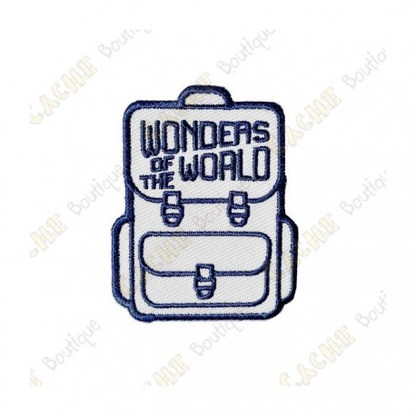 """Parche """"Wonders of the World"""""""