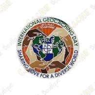 "Geocoin ""International Geocaching Day"" 2020"