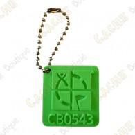 Traveler Logo Geocaching 3D - Vert