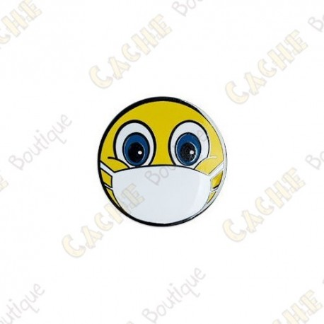 "Micro Coin ""Emoji with Mask"""