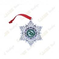 "Géocoin ""Snowflake Ornament"" - 20 ans du Geocaching"