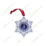 "Géocoin ""Snowflake Ornament"" - Globe"