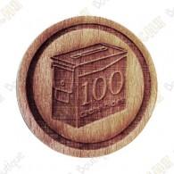 Geo Score Woody - 100 Hides