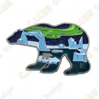 "Geocoin ""Polar Lights"" - AN"
