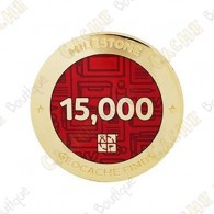 "Geocoin ""Milestone"" - 15 000 Finds"