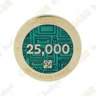 "Geocoin ""Milestone"" - 25 000 Finds"