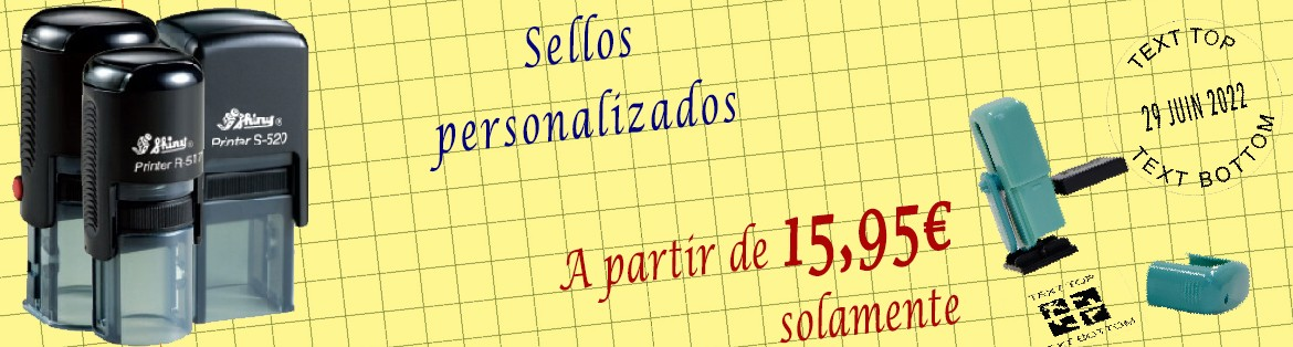 Sellos Geocaching personalizados