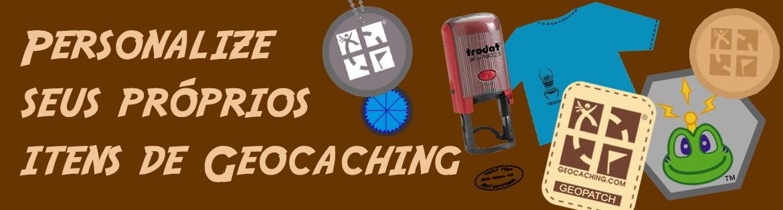 personalize seus próprios itens de Geocaching